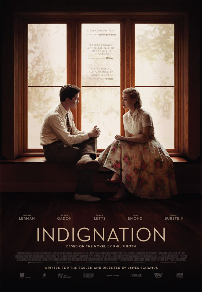 Indignation Large Poster