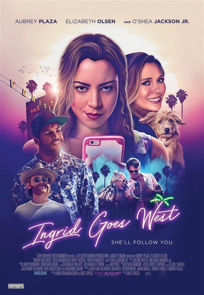 Ingrid Goes West (v.o.a.) Large Poster