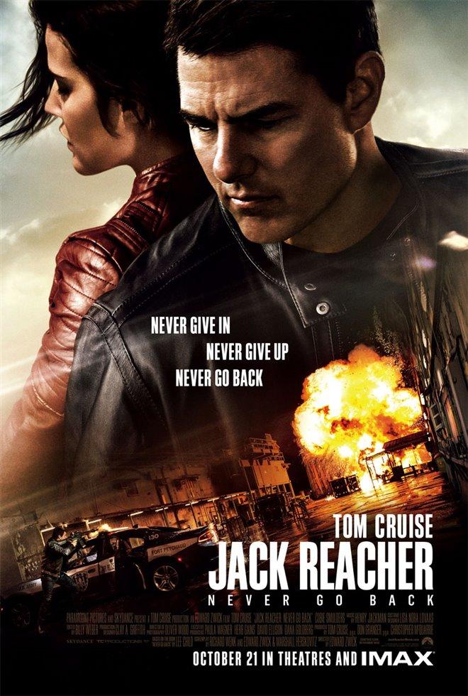 Jack Reacher: Never Go Back Large Poster