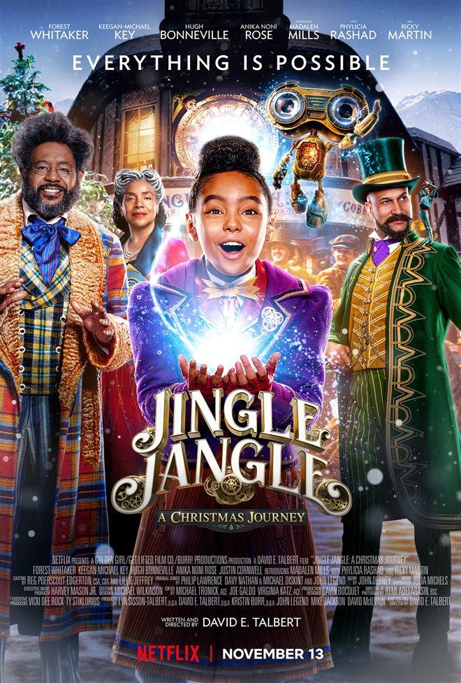 Jingle Jangle: A Christmas Journey (Netflix) Large Poster