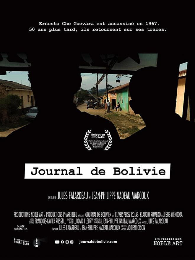 Journal de Bolivie Large Poster
