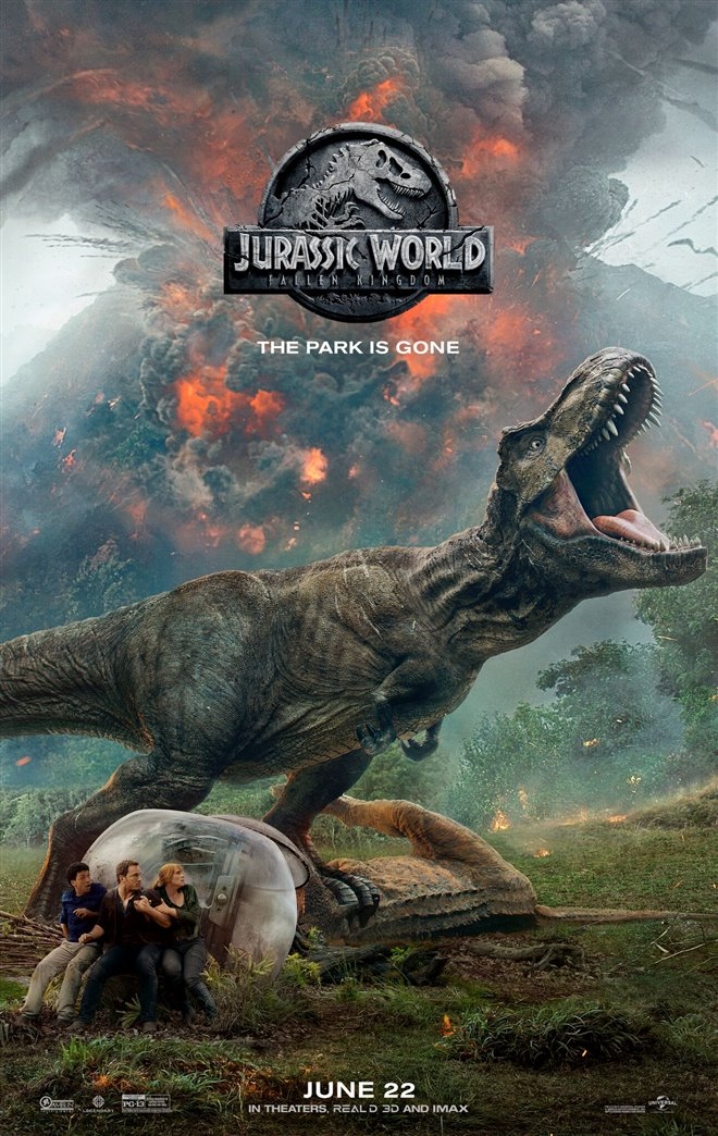 Jurassic World: Fallen Kingdom Large Poster
