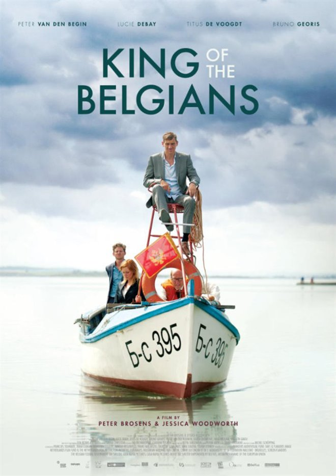 King of the Belgians Large Poster