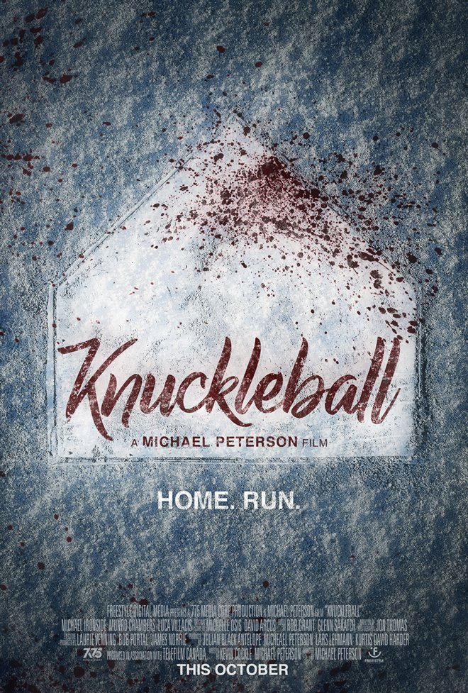 Knuckleball Large Poster