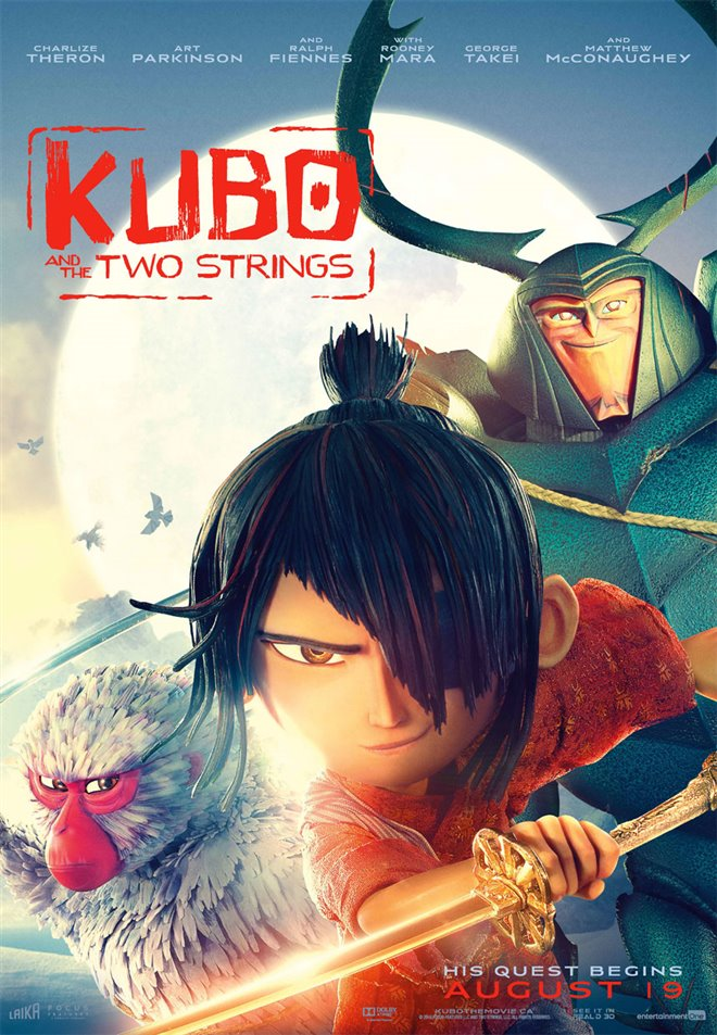 Kubo and the Two Strings Large Poster