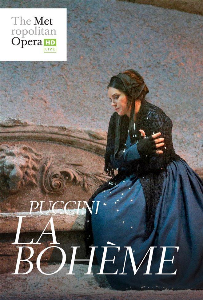 La Bohème - Metropolitan Opera Large Poster