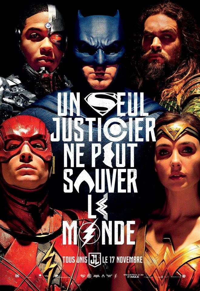 La ligue des justiciers Large Poster