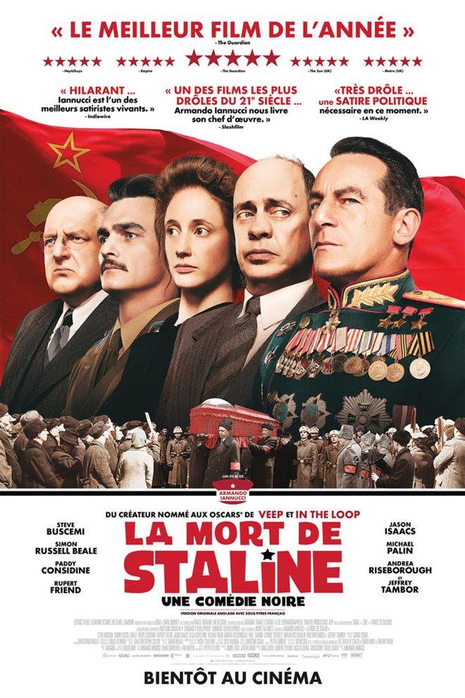 La mort de Staline Large Poster