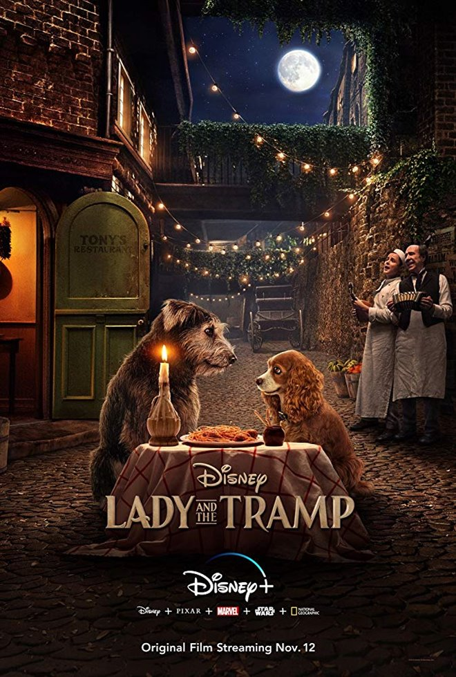 Lady and the Tramp (Disney+) Large Poster