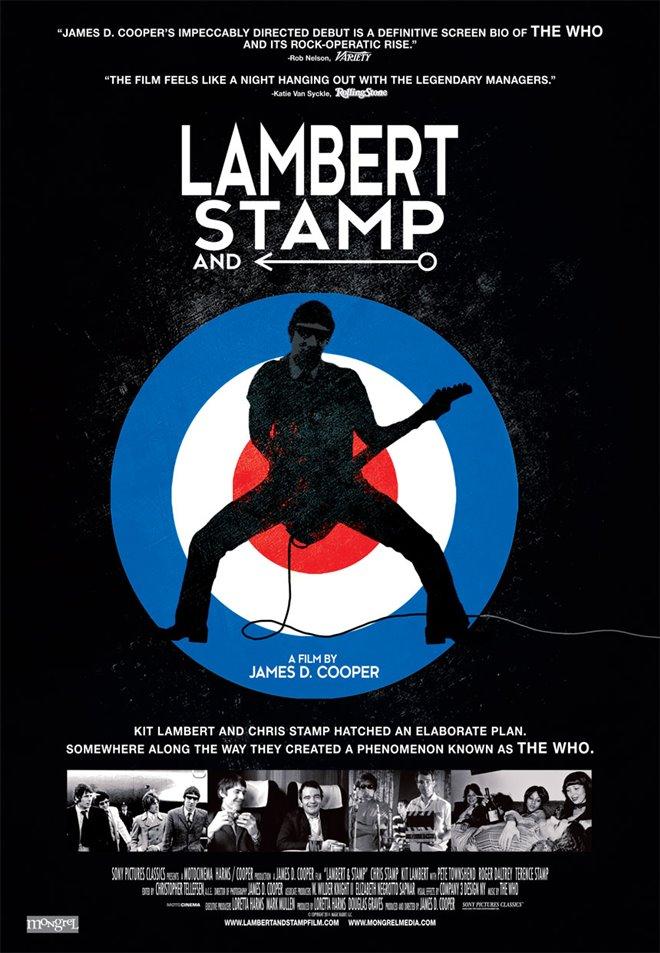 Lambert & Stamp Large Poster