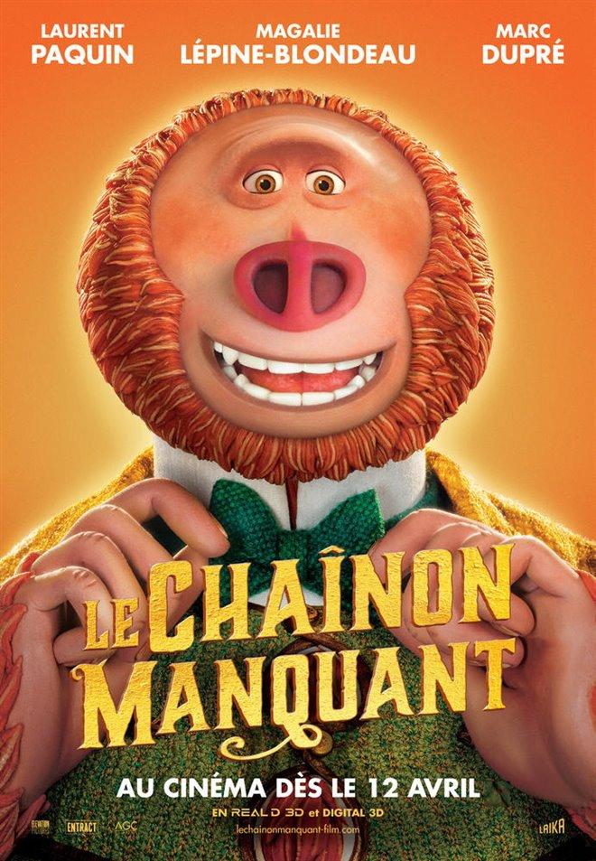 Le Chaînon Manquant Large Poster