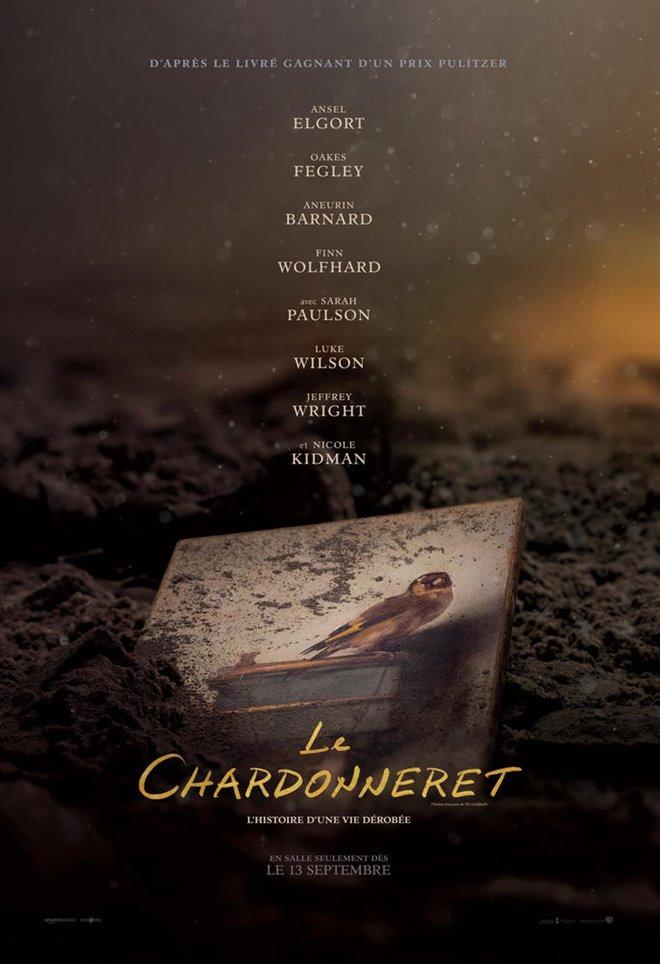 Le chardonneret Large Poster