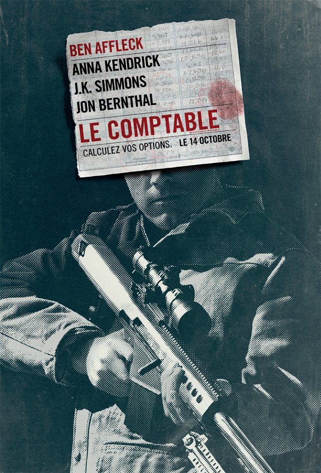 Le comptable Large Poster