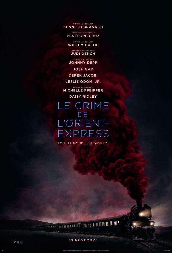 Le crime de l'Orient-Express Large Poster