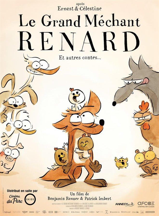 Le grand méchant renard et autres contes Large Poster