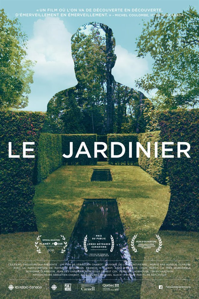Le jardinier Large Poster