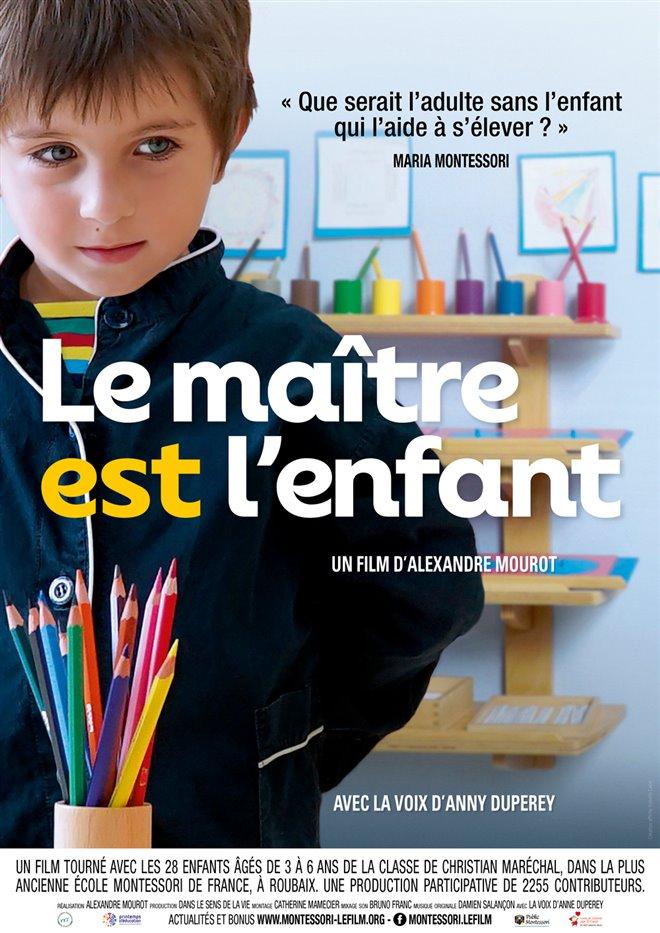 Le maître est l'enfant Large Poster