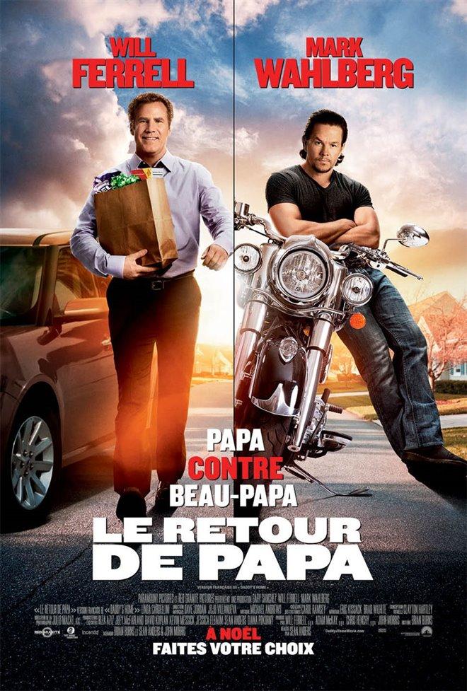 Le retour de papa Large Poster