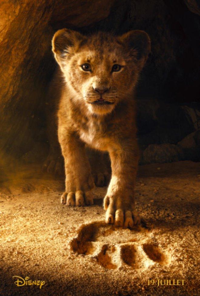 Le roi lion Large Poster