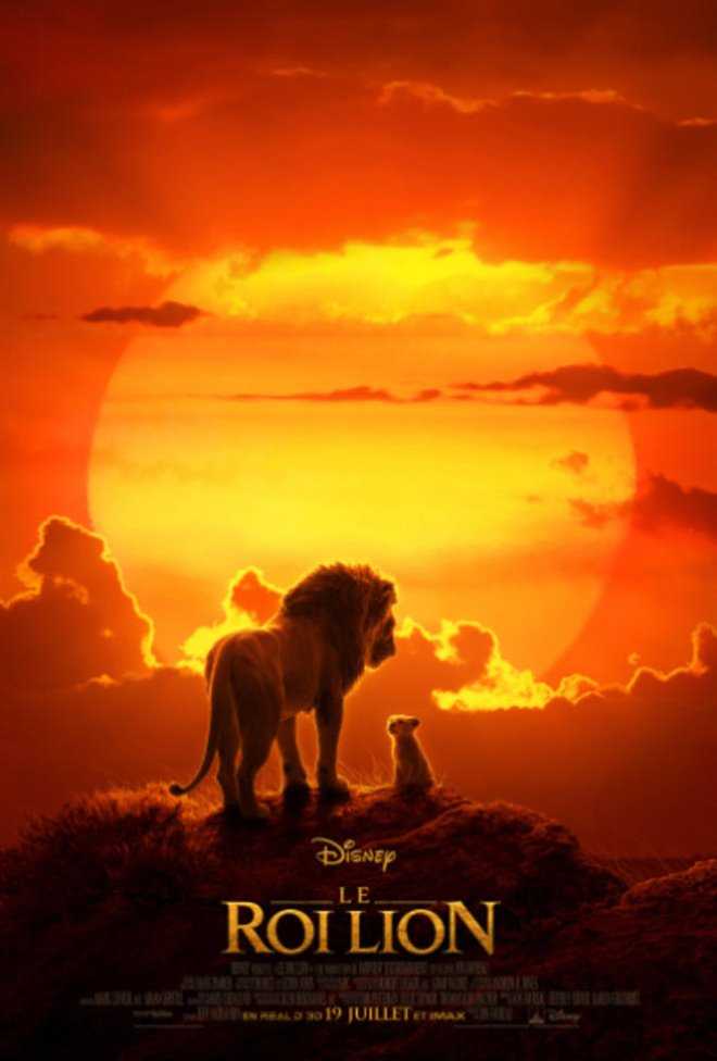 Le roi lion Large Poster