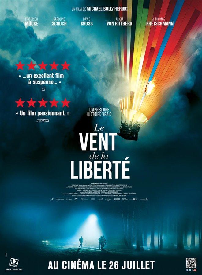 Le vent de la liberté Large Poster