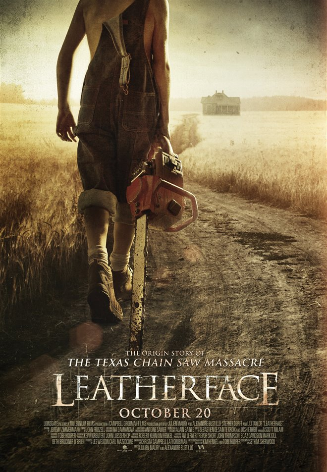 Leatherface Large Poster