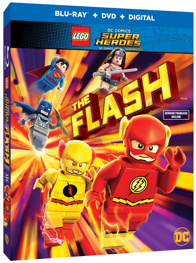 LEGO DC Comics Super Heroes: The Flash Large Poster