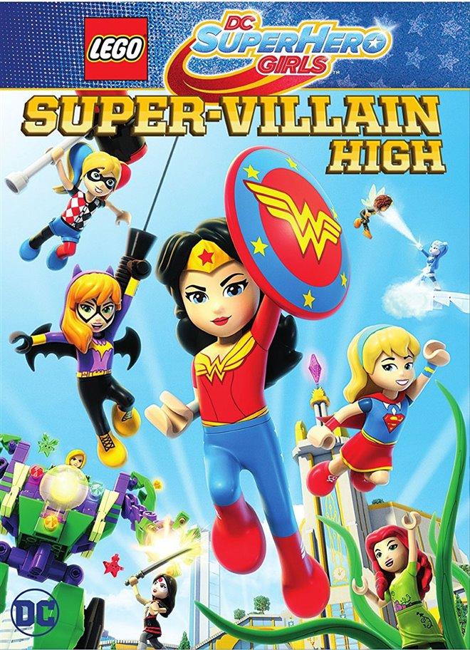 LEGO DC Super Hero Girls: Super-Villain High Large Poster