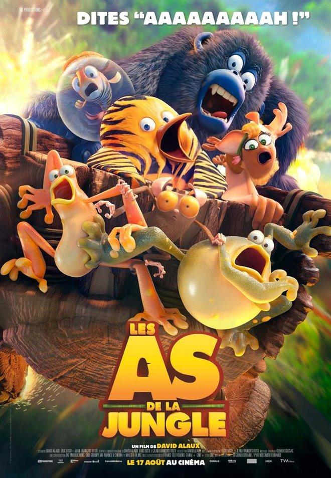 Les as de la jungle Large Poster