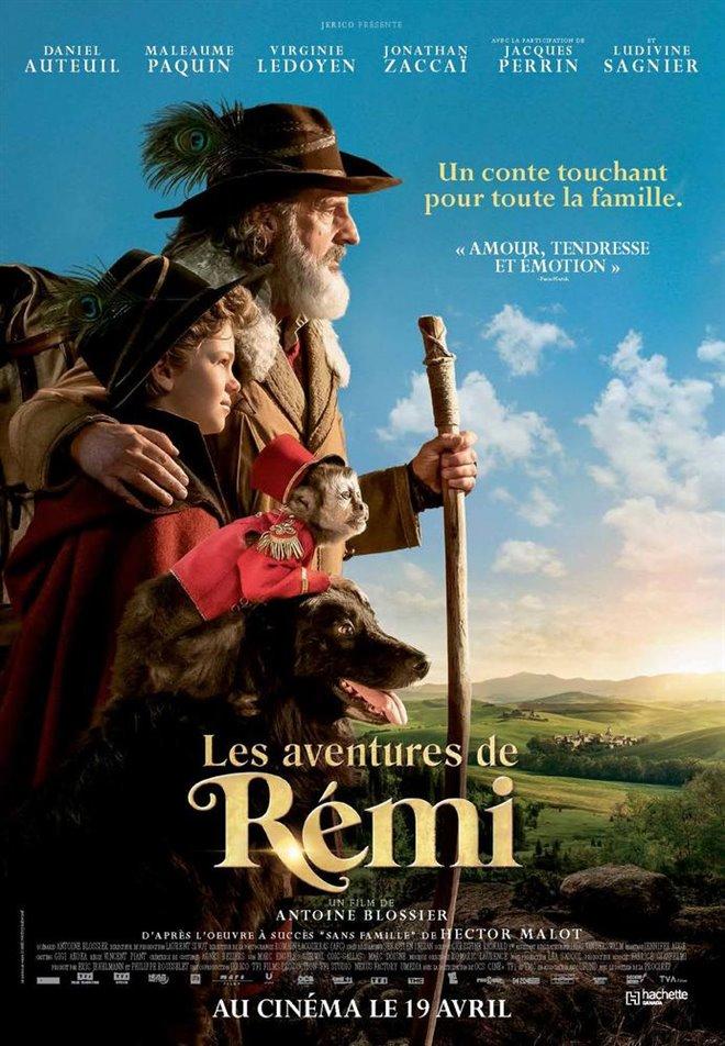 Les aventures de Rémi Large Poster
