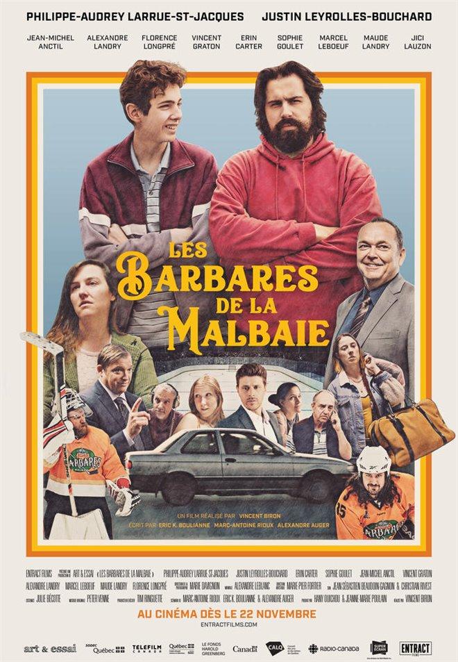 Les barbares de La Malbaie (v.o.f.) Large Poster