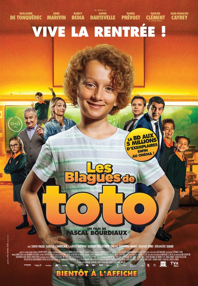 Les blagues de Toto (v.o.f.) Large Poster