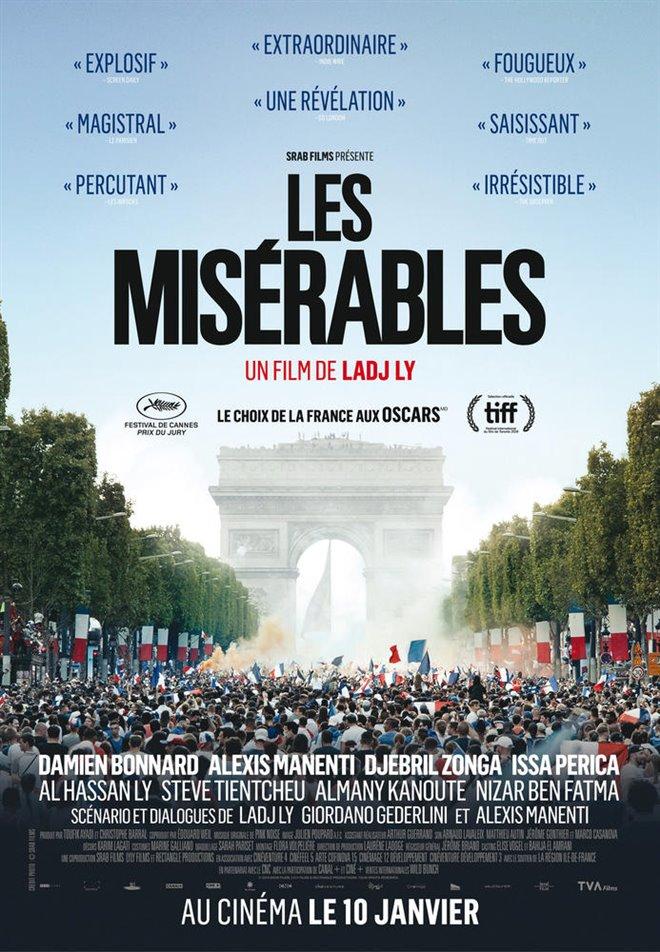 Les misérables (v.o.f.) Large Poster