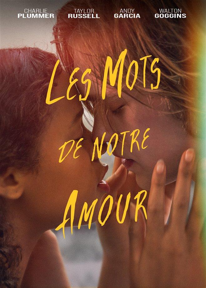 Les mots de notre amour Large Poster
