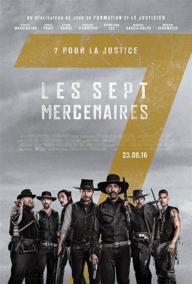 Les sept mercenaires Large Poster