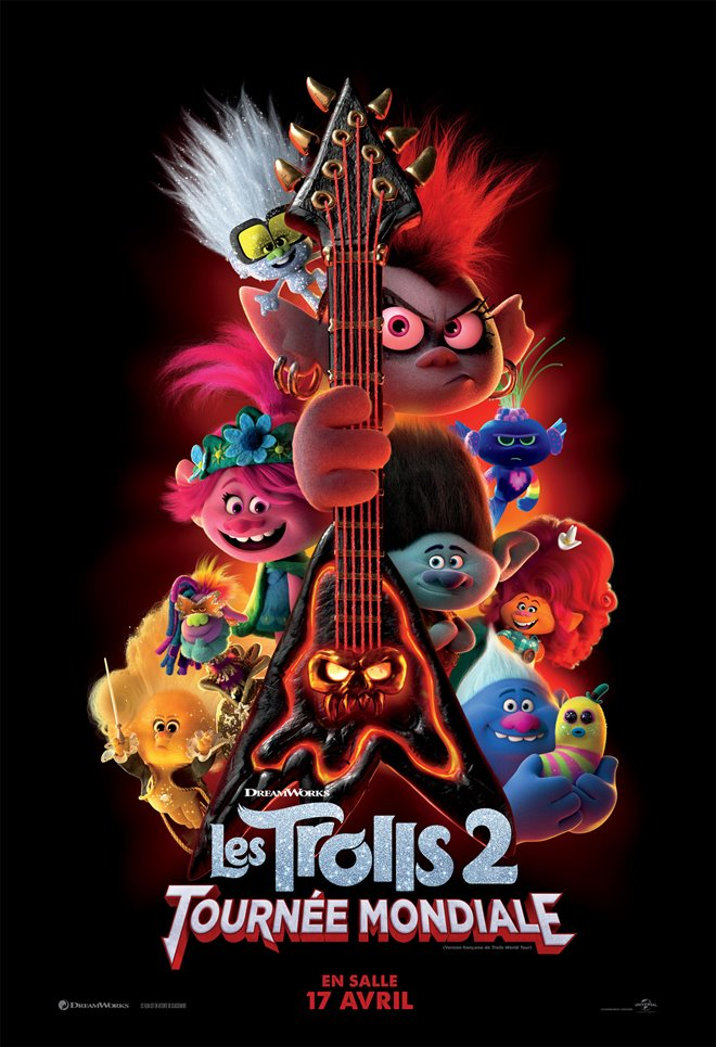 Les Trolls 2 : Tournée mondiale Large Poster