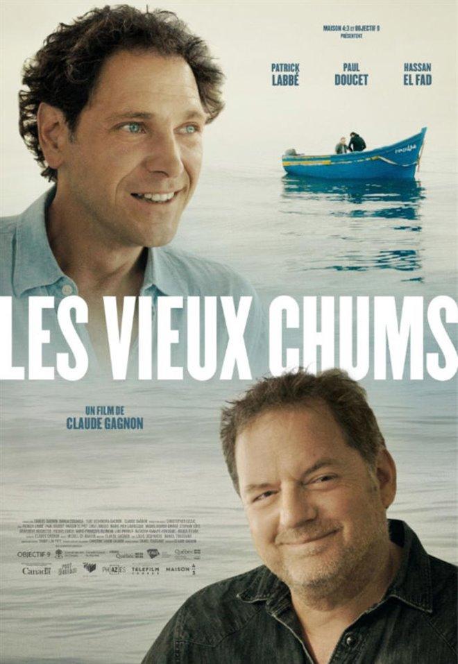 Les vieux chums (v.o.f.) Large Poster