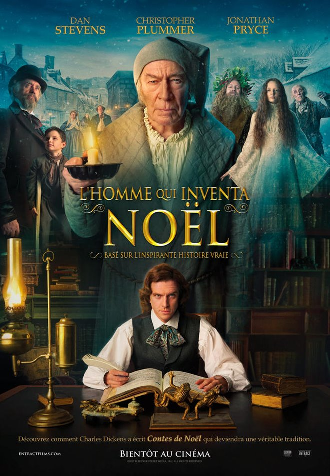 L'homme qui inventa Noël Large Poster