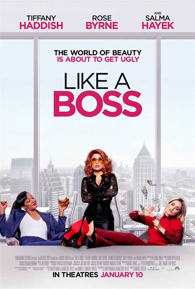 Like a Boss Large Poster