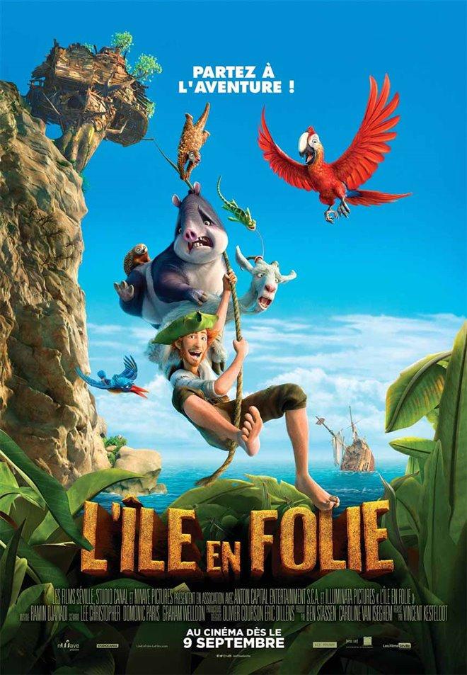 L'île en folie Large Poster