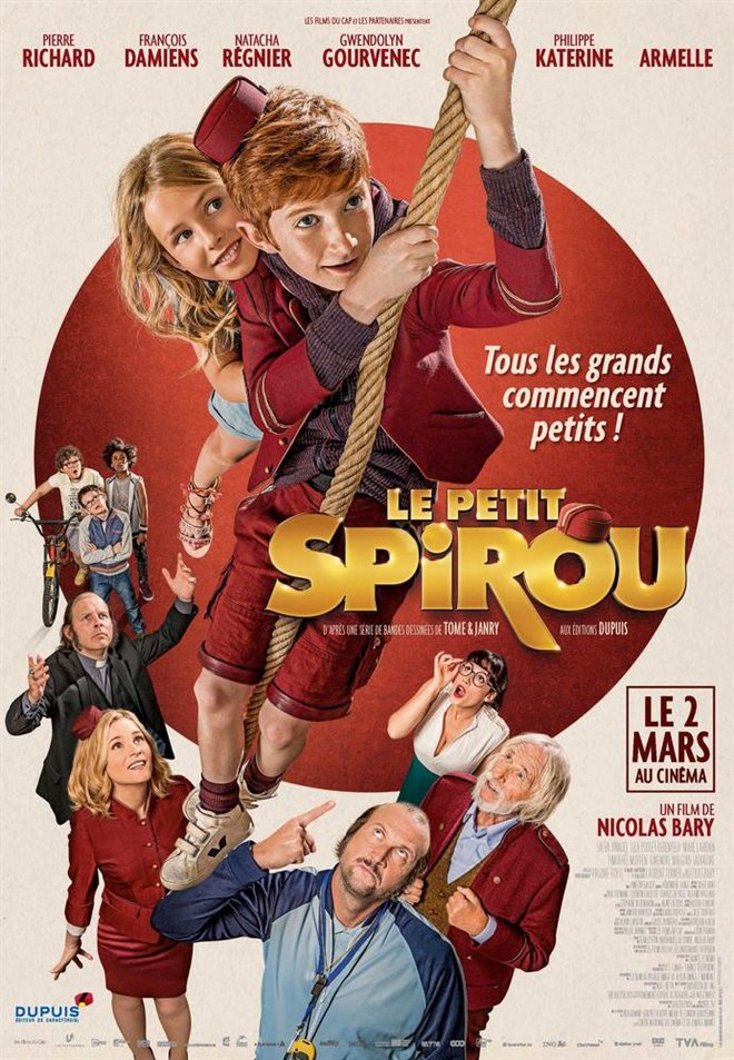 Little Spirou Large Poster