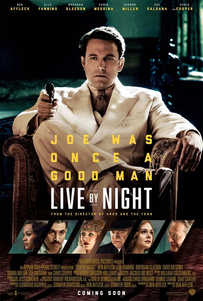 Live by Night Large Poster