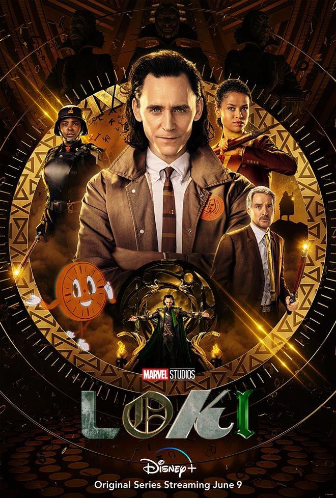 Loki (Disney+) Poster