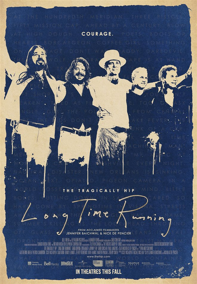 Long Time Running Large Poster