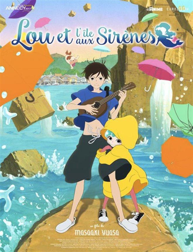 Lou et l'île aux sirènes Large Poster