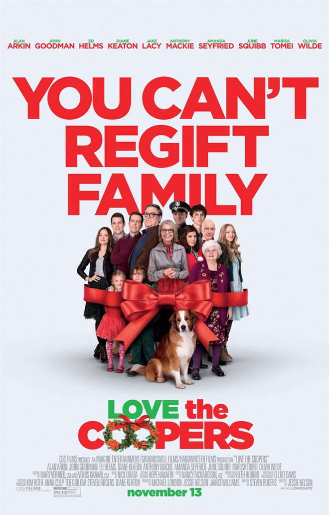 Love the Coopers Large Poster