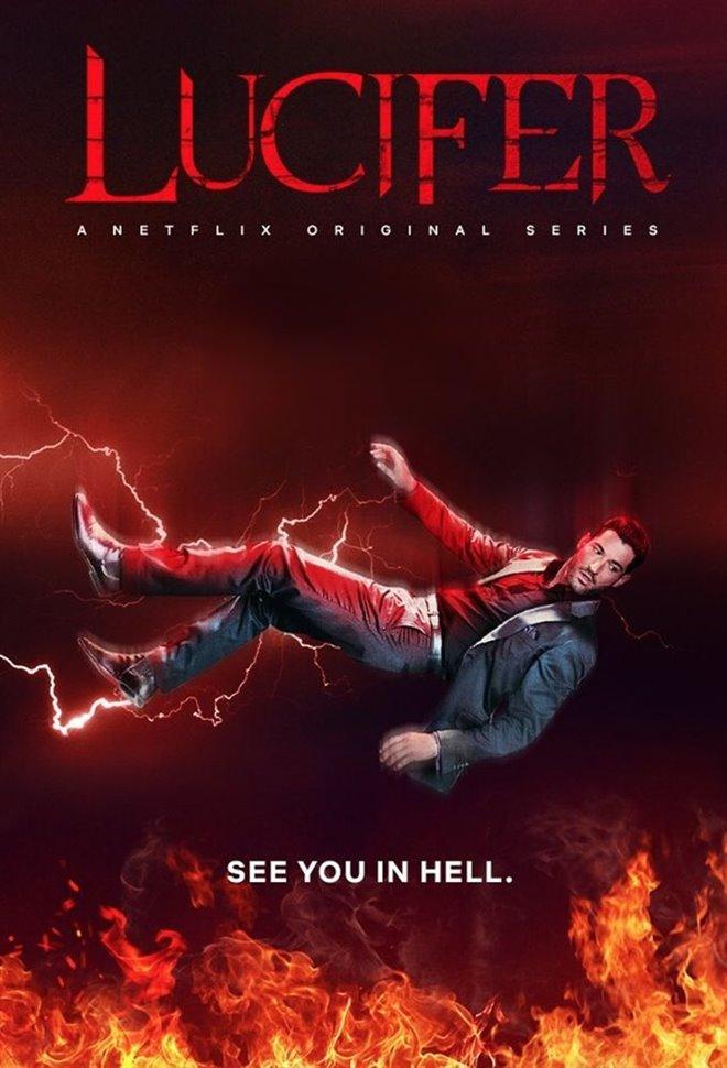 Lucifer (Netflix) Poster