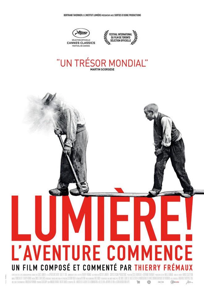 Lumière! Large Poster