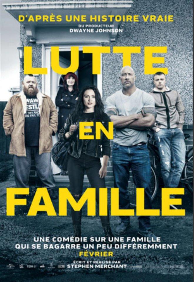 Lutte en famille Large Poster