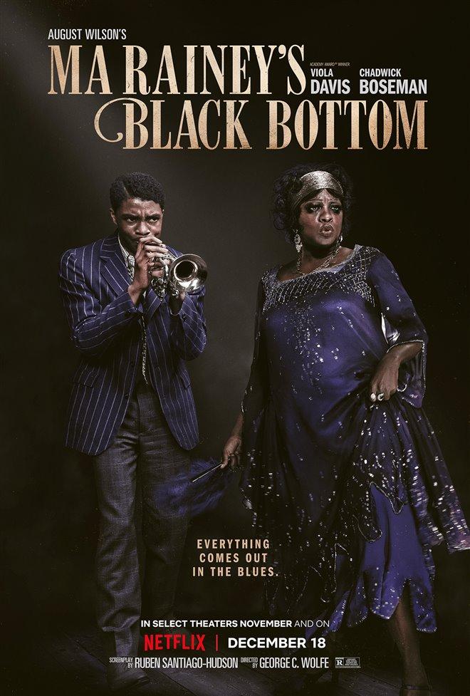 Ma Rainey's Black Bottom (Netflix) Poster